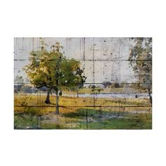 Marmont Hill Balboa Park Autumn Irena Orlov Painting Print on Canvas ($326) ❤ liked on Polyvore featuring home, home decor, wall art, canvas art, wall decor, canvas home decor, fall landscape paintings, landscape painting, fall home decor and landscape wall art