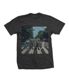 Look what I found on #zulily! Black Beatles Abbey Road Tee - Men's Regular #zulilyfinds