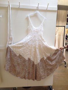 Alabama Chanin tiered dress