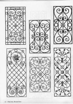 Josef Feller. Traditional ironwork designs. Iron Window Grill, Window Grill Design, Gate Design, Door Design, Iron Wine Rack, Wine Racks, Metal Drawing, Iron Windows, Tuscan Design