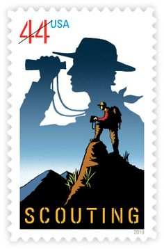 Scouting | Stamp Issue | USA Philatelic
