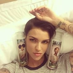 So by now you've probably heard of Ruby Rose, aka Stella, the new babe of Orange Is the New Black.   Ruby Rose And Phoebe Dahl Are The Ultimate Power Couple
