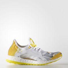 adidas Pureboost Xpose Orange White Womens Running Shoes Boost BB1731 size 7.5