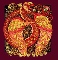 Celtic dragon.