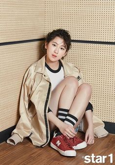 """Baek Ye Rin Poses with """" for Photoshoot and Interview Jyp Artists, Country House Design, Ailee, Korean Entertainment, G Friend, Kpop, Jinyoung, How To Be Outgoing, Jimin"""