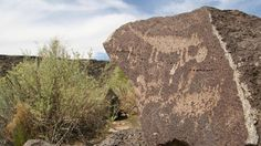 Petroglyph National Monument New Mexico -See the symbols carved into the rocks 400-700 years ago!