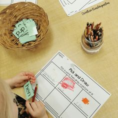Change out the word sets that are used with this literacy activity to get students learning about CVC, CCVC, CVCC or CVCE words. Kindergarten Worksheets, Kindergarten Classroom, Kindergarten Activities, Classroom Ideas, Preschool, Spelling Activities, Word Work Stations, Magnetic Drawing Board, Cvce Words