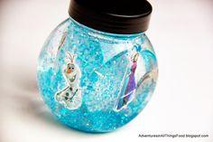 Aprenda a fazer um lindo Globo de Neve para dar de lembrancinha de aniversário Frozen