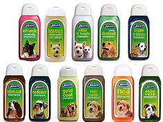 #Johnsons dog #shampoo #range. 125 ml bottles,  View more on the LINK: http://www.zeppy.io/product/gb/2/370827291175/