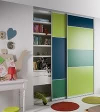 1000 images about deco chambre on pinterest dressing - Stickers placard coulissant ...