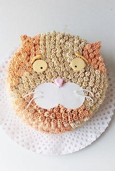 Torta de gato/ Cat cake