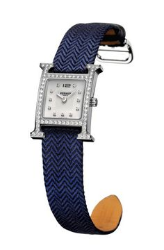 hermes Silkycity medium night blue/sapphire blue