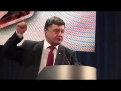 """Poroshenko: """"Their children will hole up in the basements - this is how we win the war!"""" [ENG SUBS] - YouTube"""