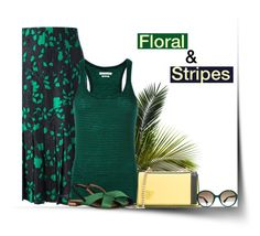 """""""Floral & Stripes"""" by carolinez1 ❤ liked on Polyvore featuring Jean-Louis Scherrer, Étoile Isabel Marant, Emilio Pucci and Gucci"""