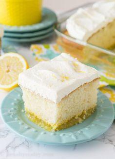 Lemon Bar Magic Cake