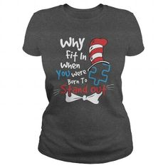 Awesome Tee Standing With Autism Awareness T-Shirts