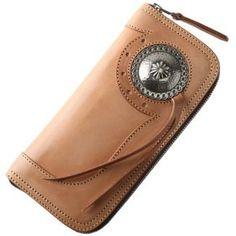 CATEGORIES :: Long Wallet :: Round zipper wallet :: Concho, ornament model