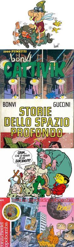 Cinque fumetti creati da Bonvi che sono ancora oggi rivoluzionari