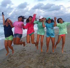 Lucky Knot Tees + Beach = :)!