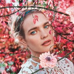 Natalia Vodianova by Ryan McGinley for Porter Spring 2015 ❤ liked on Polyvore featuring backgrounds, people and natalia vodianova