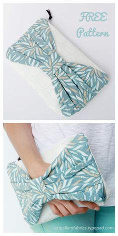 DIY The Christina Bow Clutch Free Sewing Patterns & Tutorials