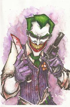 Joker by Matthew J Fletcher @Duckthulhu Armstrong
