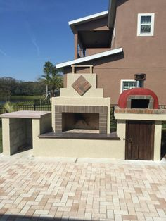 This Outdoor Fireplace And Pizza Oven Was Built By A DIY Homeowner Using A  BackyardFlare.
