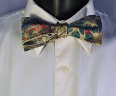 Check out this item in my Etsy shop https://www.etsy.com/listing/243954770/mans-bow-tie-for-all-occasions-hand