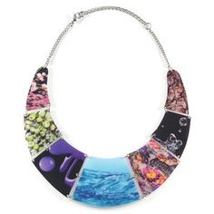 Liquid Collage Necklace, $43, by REALM by Jesse Walker !!