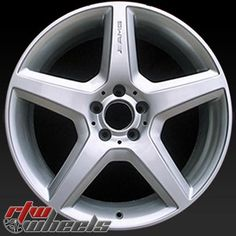 "Mercedes wheels for sale 2008-2013. 20"" Silver rims 85061 - http://www.rtwwheels.com/store/shop/mercedes-wheels-for-sale-silver-85061/"