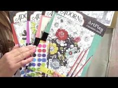 Art Play Coloring Books by AdornIt Video