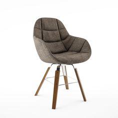 EVA 2266/R Chair by Zanotta