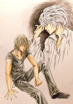 Death Note. Near and Mello. http://blogs.yahoo.co.jp/ogino_toratora22_milkyway