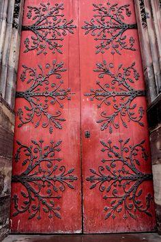 Door by Matthew Spiteri Knobs And Knockers, Door Knobs, Door Handles, Cool Doors, Unique Doors, Porte Cochere, When One Door Closes, Grand Entrance, Architectural Elements