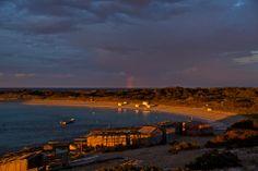 Rainbow over Illetas