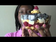Vegan Trifle & Punch Bowl Cake Recipe - Summer, Memorial Day & 4th of July