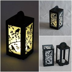 Perhaps too fr… LED birds silhouette. Perhaps too fragile for a product to sell. But the silhouette is so lovely. Led Tealight Candles, Tea Light Candles, Candle Jars, Tea Lights, Paper Lantern Lights, Paper Lanterns, Diy Projects For Kids, Diy For Kids, 3d Projects