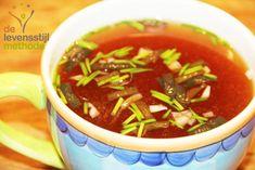 Misosoep | Soep | Soup | Rood | Red | Groen | Green | Ui | Onion | Eten | Food | Gezond | Healthy | Dreambody transformation | De Levensstijl | Asja Tsachigova