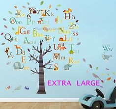 Abc Wall Stickers Bedroom Stickers For Toddlers Large Kids Wall Stickers  Kids Removable Wall Stickers Name Wall Stickers