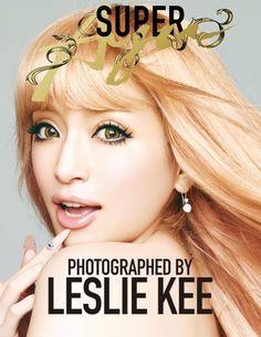 『SUPER Ayu』封面  Ayumi Hamasaki by Leslie Kee