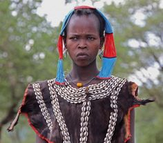 """Africa   """"Tsemay Beauty"""". Omo Valley, Ethiopia   ©Andres Rios Patterson Beautiful Stories, Beautiful People, Columbus Travel, Tribal People, People Of The World, Headgear, Black People, Black Is Beautiful, Diversity"""