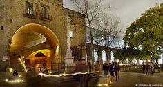 Biblioteca de Catalunya : Jardins Rubió i Lluch (Barcelona)
