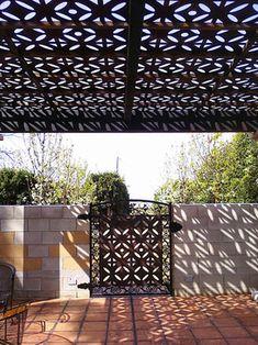 Continental Flower pattern - Mediterranean - Patio - Other - by Parasoleil