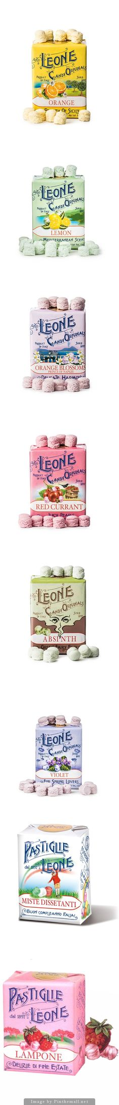 Leone Candies does creative, whimsical things with each flavor
