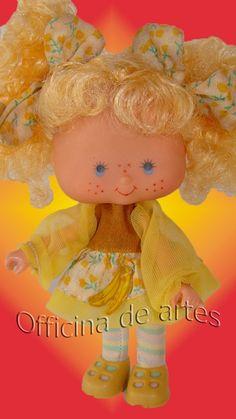 Boneca Antiga Moranguinho Bananinha Estrela - R$ 150,00 no MercadoLivre