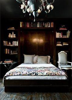 Livros no quarto por Bobbi