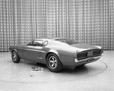 1966 Ford Mustang Mach 1 Concept Image