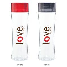"Our new #RedMango ""love"" water bottles!"