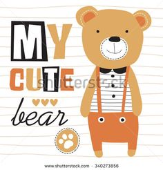 my cute teddy bear v