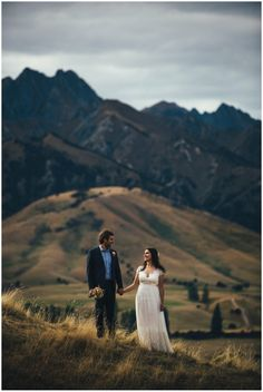 Emma & Steve's Wanaka wedding at Lookout Lodge. Photographer: Jim Pollard goes click